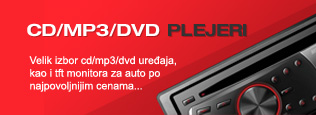 AUTO CD MP3 DVD PLEJERI